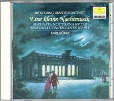 Karl BÖHM: MOZART Eine kleine Nachtmusik Serenata Notturna Sinfonia Concertante