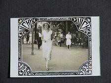 Photo VICHY REINE VILLES D'EAUX 1930 Photogr de rue STATION THERMALE Thermalisme