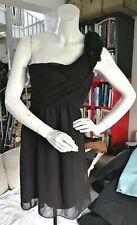 Jane Norman one shoulder with bow skater dress UK size 10/EU 36 BNWT