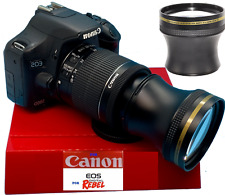4.7X TELEPHOTO ZOOM LENS FOR CANON REBEL EOS XTI 1200D T3 T3I T4 T5 T6 7D 6D