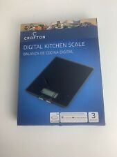 Digital Kitchen Scale Large Led Display Glass Weighing Surface Fl/oz Display