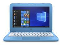 """HP 11-AH011WM 11.6"""" Laptop Intel Celeron N3060 1.6 GHz 4GB SDRAM 32GB eMMC Aqua"""