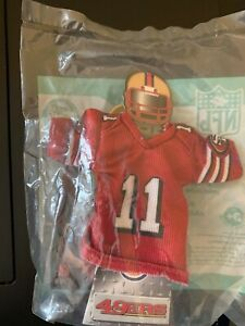 SAN FRANCISCO 49ERS MINI JERSEY-BURGER KING 2007-#11 A SMITH-NEW IN PACKAGE
