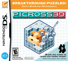 Picross 3D - Nintendo DS Game