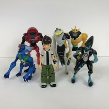 Ben 10 Action Figures Job Lot x 6