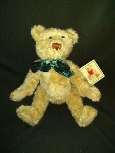 "NEW Bialosky Bear 2002 100th Anniversary of The Teddy Bear rare green Bow 18"""