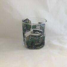 LANDROVER SERIES 2   DESIGN ON HEAVEY BASE LARGE TUMBLER  GLASS