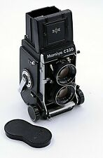 MAMIYA C330  PRO S MEDIUM FORMAT TLR CAMERA WITH 80mm F/2.8 BLUE DOT LENS