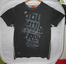 KTM Tee Shirt Destroyed Look Antrazit  - T : S neuf