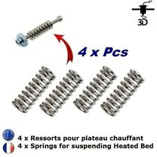 4x Ressort pour Plateau Chauffant Spring for Heated Hed Imprimante 3D Printer