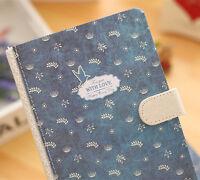 Niedlich Notizbuch Handschriften Tagebuch DIN A5 Reisetagebuch Kladde Vintage