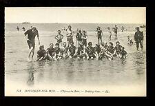 France Pas-de-Calais BOULOGNE-SUR-MER Bathing LL Louis Levy c1900s? PPC