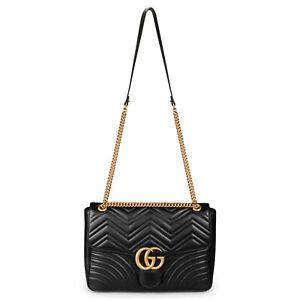 Gucci Marmont Large Matelasse Shoulder Bag
