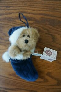 """Boyds Bears ARCHIVE COLLECTION Style #562030 Bear in Christmas Stocking 7"""" long"""