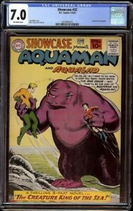Showcase # 32 CGC 7.0 Off-White (DC, 1961) Nick Cardy cover