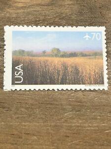 Scott#C136- Nine Mile Prairie, Nebraska- 70c MNH (S/A) Single -2001- Airmail