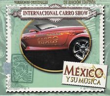 Internacional carro Show Mexico y su Musica Box set 3CD New Nuevo sealed