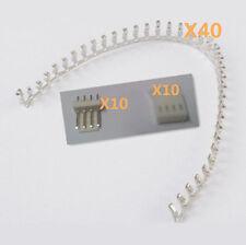 40pcs KF2510-4P 2.54mm Pin Header + 10*Terminal + 10*Housing Connector Kits