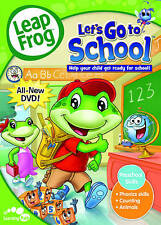 Leap Frog - Lets Go to School (DVD, 2009)