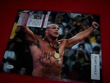 KURT ANGLE 11X14 SIGNED 96 GOLD USA OLYMPIC TNA WRESTLING Photo JSA CERTIFIED