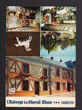CARQUEFOU (44) AUBERGE DU CHEVAL BLANC / HOTEL Carte de visite Format postale