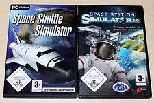 Space Shuttle simulador & Space Station simulador 2.0 - PC DVD-como nuevo nasa