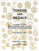 Medals and Tokens Guide by Alpert & Elman 1992 1st Ed Softcover 300 Pages