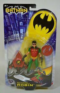 Mattel Batman Series 1 Robin (Battle Board) Tim Drake action figure new sealed