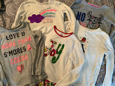 Girls Clothes Lot 8 Pieces Of Size 6. Euc Assorted Name Brands