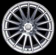 19x8.5 Miro 110 5x114.3 +35 Silver Wheels Fits Mazda 3 Rx8 Eclipse (Tc 2010+)