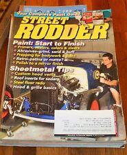 STREET RODDER Sept 2010- Paint- start to finish; Sheetmetal tips; Paint guide