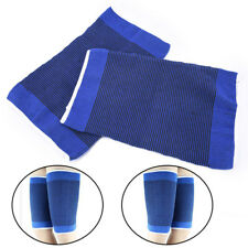 1PC blue thigh guard muscle strain protector muslo pads support fitness sport TO