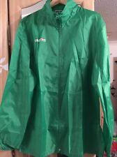 Macron Football Rain Jacket, Windbreaker. XL Extra large. Green. New