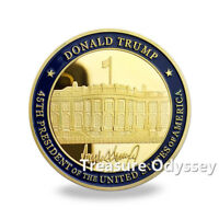 Seal of the President of the United States GOLD plated HQ Collectible Coin
