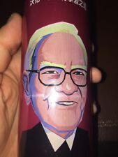 Warren Buffet Coca Cola Empty Unopened Can Cherry Coke Berkshire Hathaway