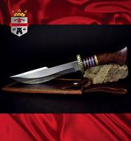 Steel hunting knife, 080SW Kayode KingForge, survival stainless bush knives gift