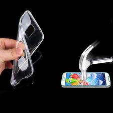 Funda móvil de silicona, bumper, protección funda protectora + lámina tanques lámina protectora de pantalla probagz