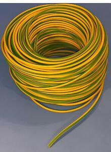 Erdungskabel 4mm² - Grün/Gelb - H07V-K - Aderleitung feindrähtig flexibel …