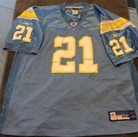 Reebok On Field San Diego Chargers LaDainian Tomlinson NFL Jersey SZ 54 Pro Cut