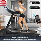 3.25HP Folding Treadmill Running Machine 15% Auto Incline APP Control 300lb US