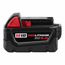 Milwaukee M18 Redlithium XC 5.0 Extended Capacity Battery Pack (48-11-1850)