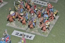 25mm medieval / english - mixed 12 figures - cav (23266)