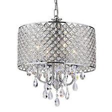 Elegant Crystal Chandelier Modern Ceiling Light Lamp Pendant Lighting Fixture