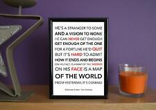 Framed - 30 Seconds To Mars - From Yesterday - Poster Art Print - 5x7 Inches
