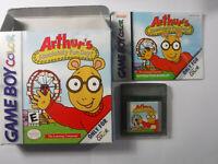 Arthur's Absolutely Fun Day Nintendo GameBoy Color Boxed Game Boy