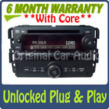 UNLOCKED GMC Acadia Radio Stereo CD DVD Player MP3 ipod Aux input Receiver AM FM