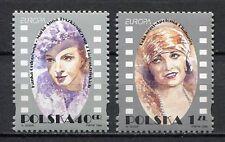 36033) POLAND 1996 MNH** Ordonowa, Paola Negri 2v. Europa