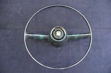 1953-1955 Cadillac steering wheel horn ring with emblem CAD194