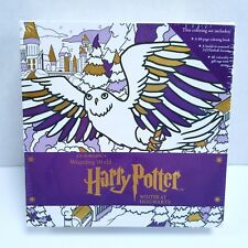Harry Potter Magical Coloring Set Winter at Hogwarts - New Sealed + Free Ship