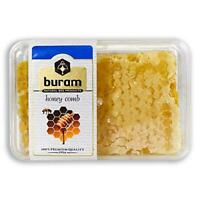 Buram 100% Pure, Gourmet Raw Honeycomb, 100% All-Natural, No Additives, No
